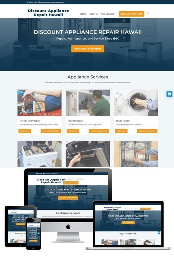 Discount Appliance Repair Hawaii