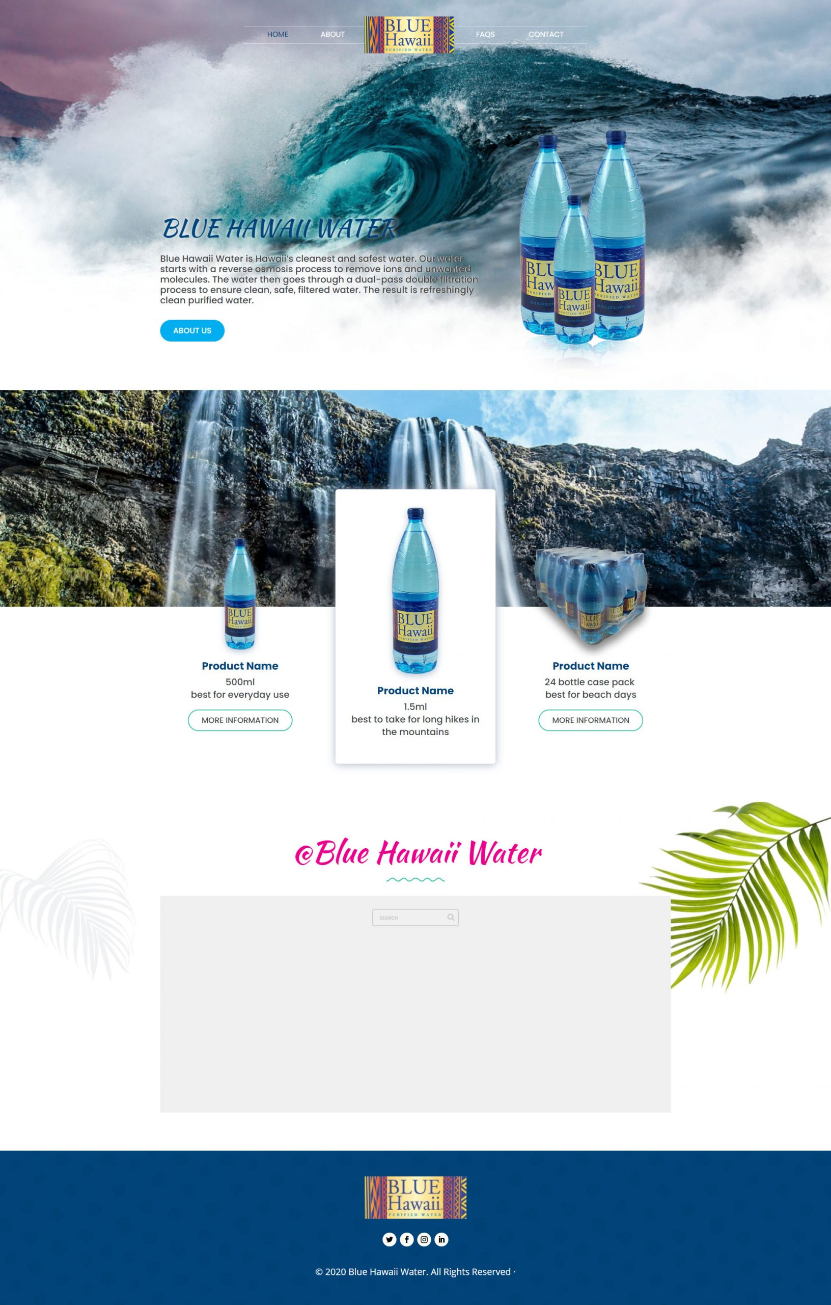 Blue Hawaii Water